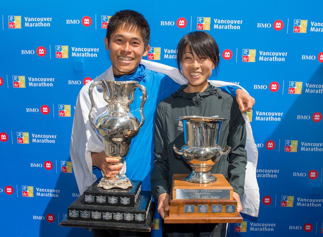 vancouver marathon winner 2019