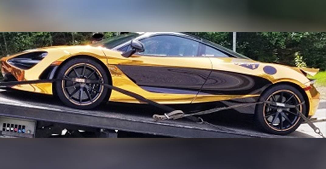 $462K supercar on Sea-to-Sky Highway impounded for excessive speed – again