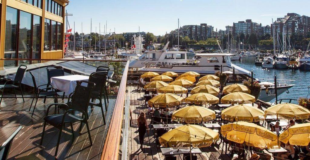 best Granville Island patios