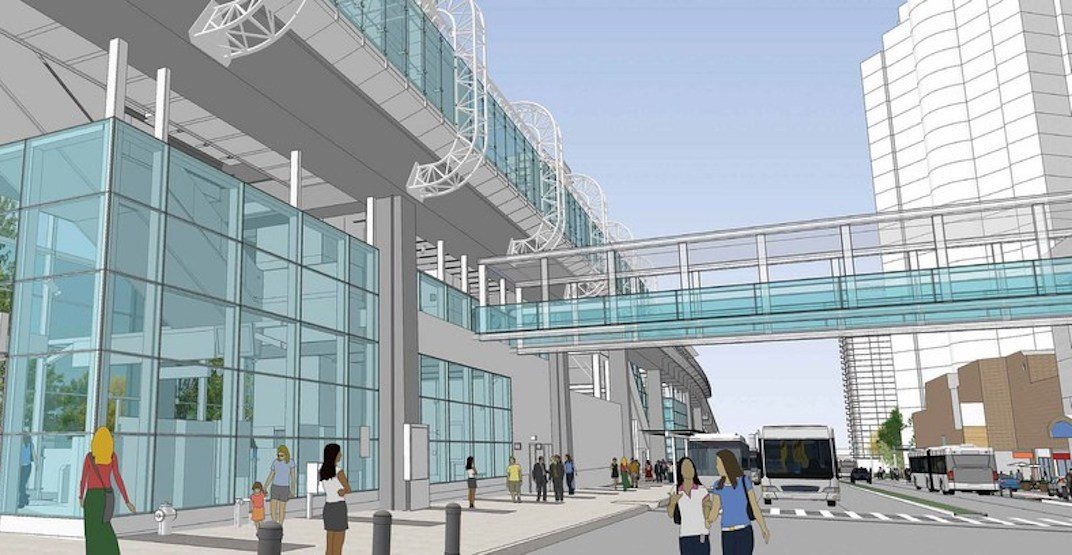 New pedestrian bridge to connect SkyTrain's Metrotown Station with Metrotown mall