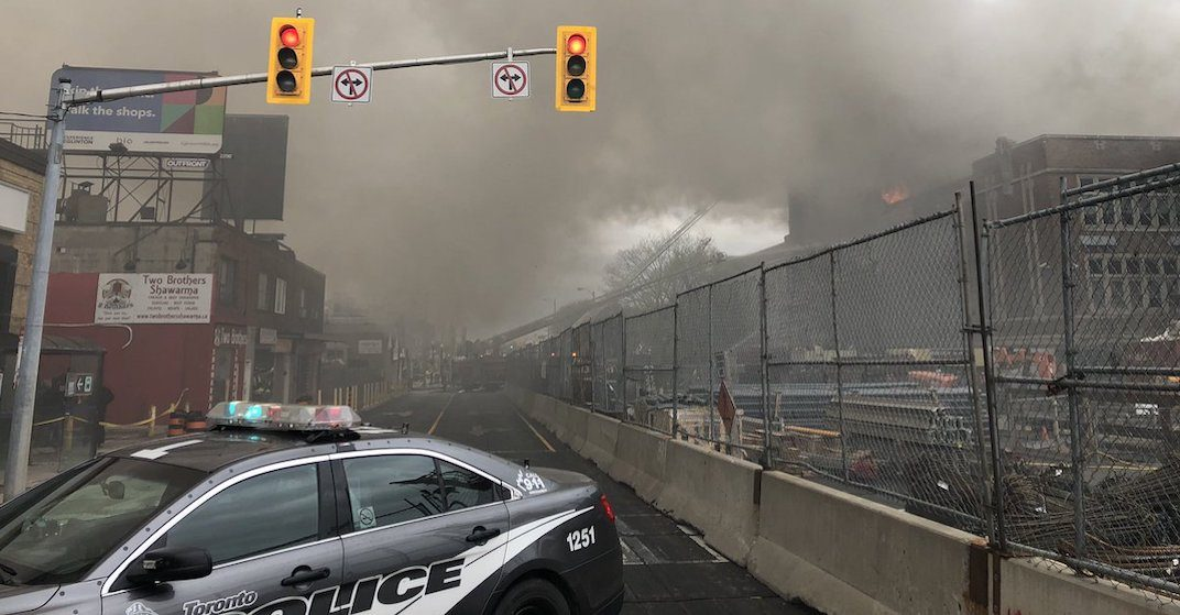 Blaze at York Memorial upgraded to 6-alarm fire, evacuations ordered