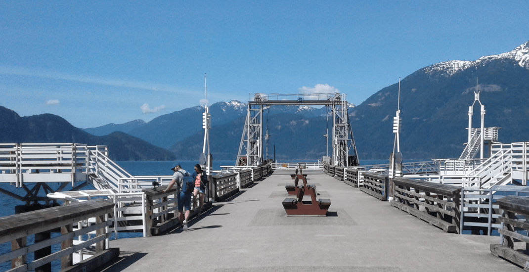 Toddler rescued by stranger after falling off Porteau Cove dock in Squamish