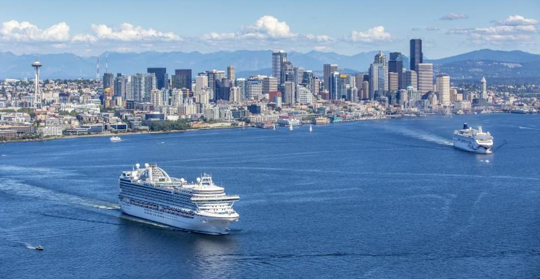 Port of Seattle cruise ships