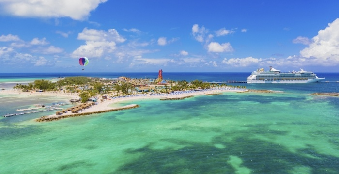 royal caribbean island