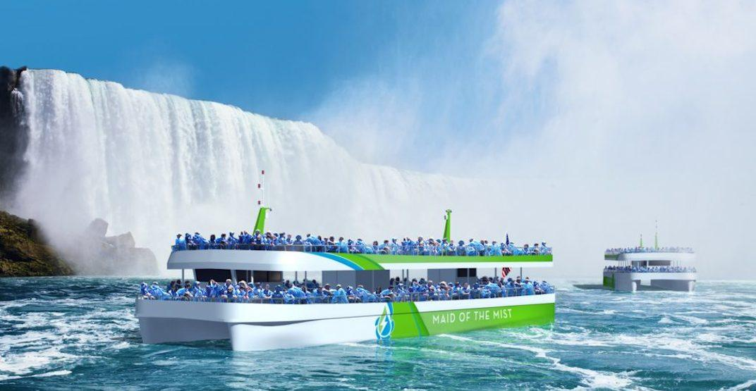 Famous Maid of the Mist boats at Niagara Falls to be replaced this summer