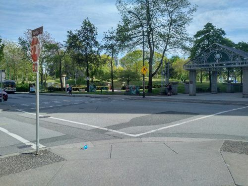 No school zone signs