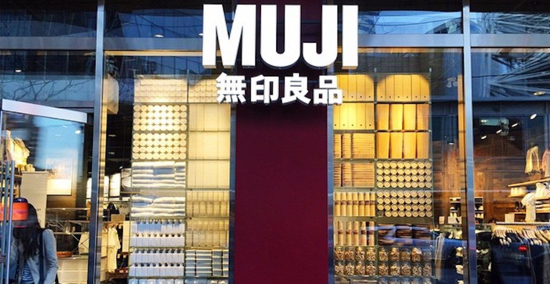 A MUJI clearance outlet is popping up downtown starting on May 10