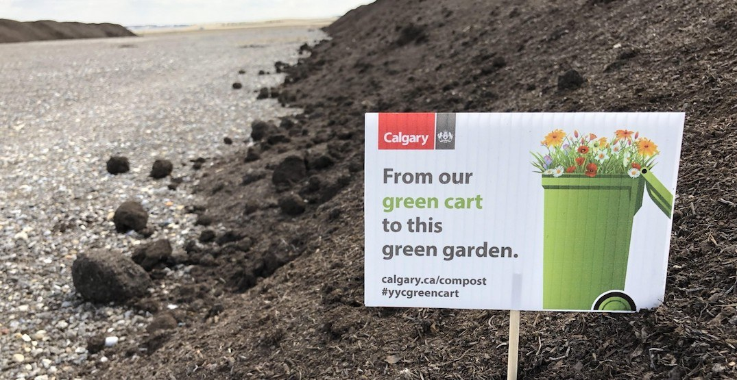Grab some FREE compost from the city to get your spring garden growing