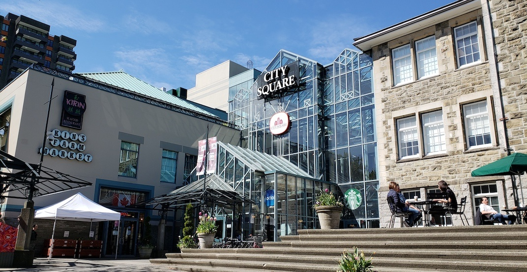 City square mall vancouver f