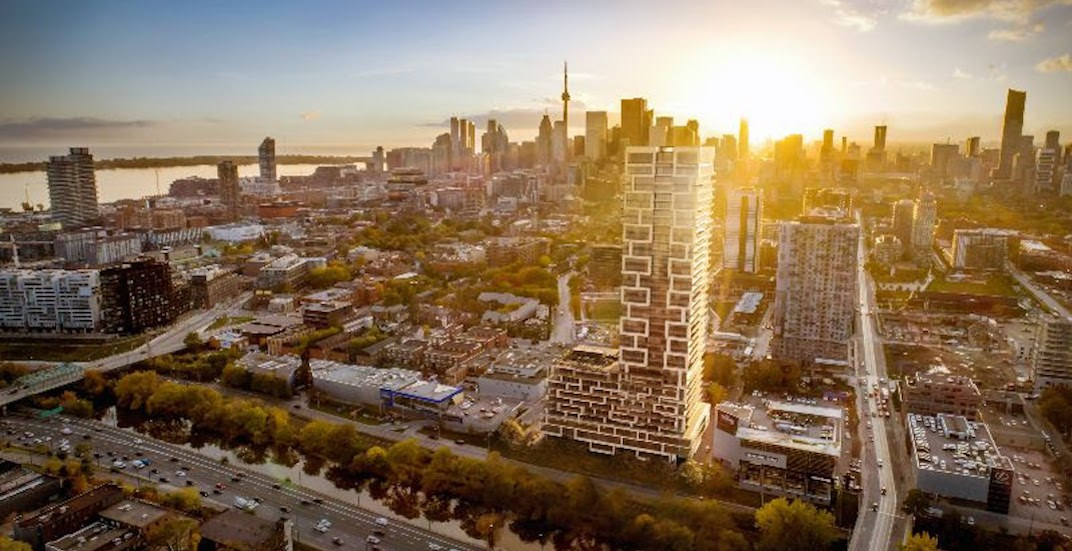 37-storey high-rise coming to Toronto's east end (RENDERINGS)
