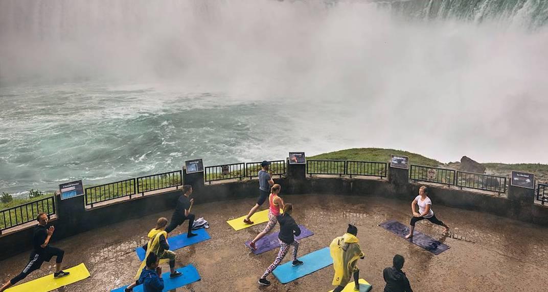 You can do yoga next to Niagara Falls this summer (PHOTOS)
