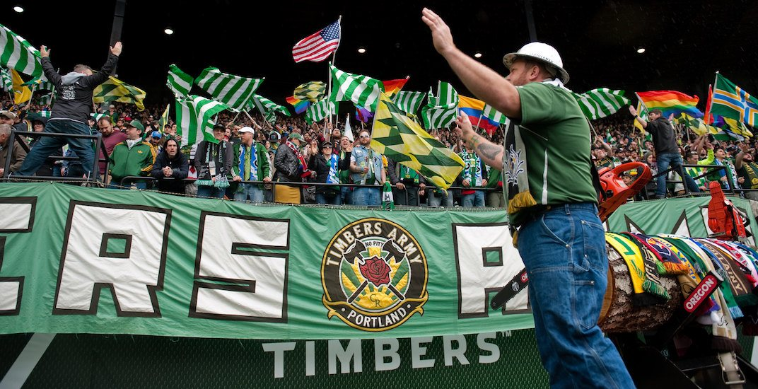 Traveling Portland Timbers fans to join Whitecaps walk-out protest