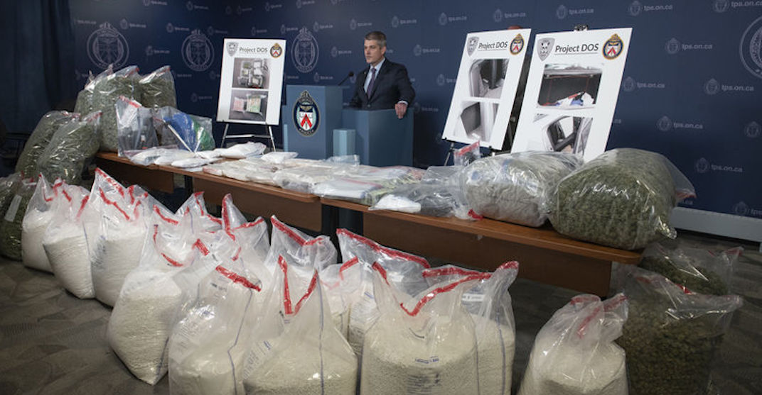 Police seize $17M in drugs from 'large-scale' Ontario trafficking ring