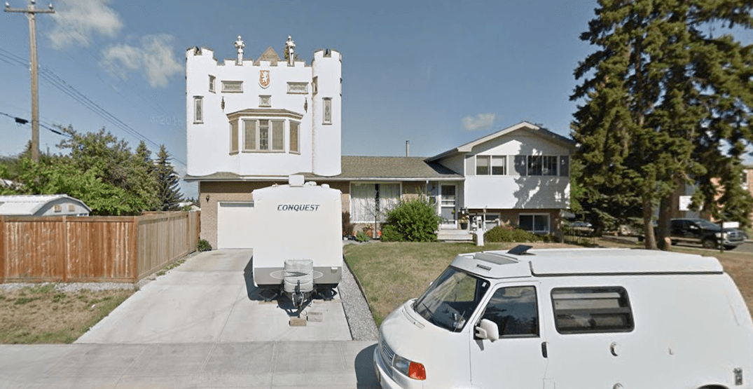 Someone in Edmonton built a castle on top of their house (PHOTOS)