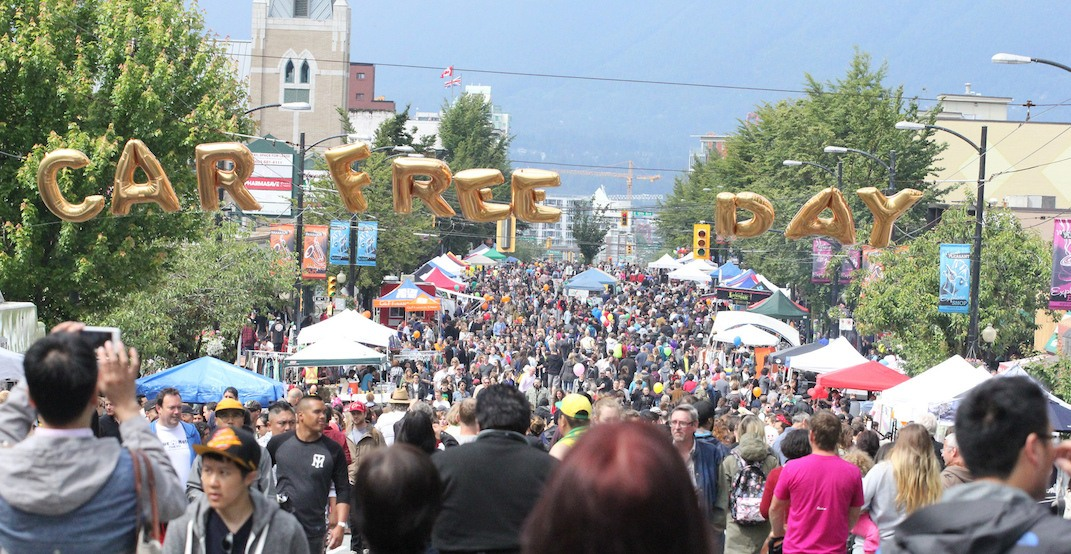 Car Free Day Vancouver releases its 2019 entertainment lineup