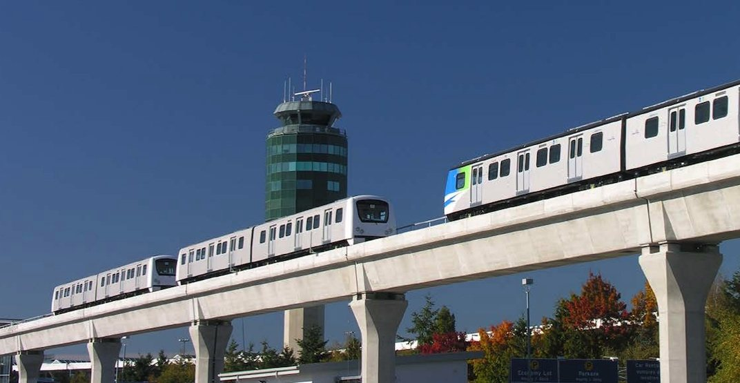 Canada Line SkyTrain YVR Vancouver International Airport