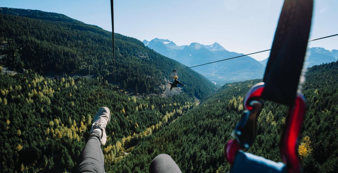 Superfly ziplines