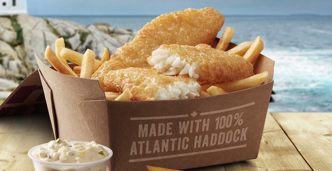McDonald's is launching fish & chips across Canada on May 14