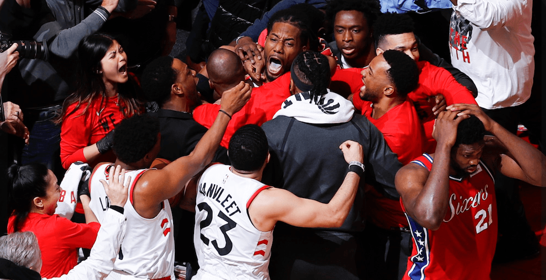 How Raptors fans reacted to Kawhi's Game 7 buzzer-beater (VIDEOS)
