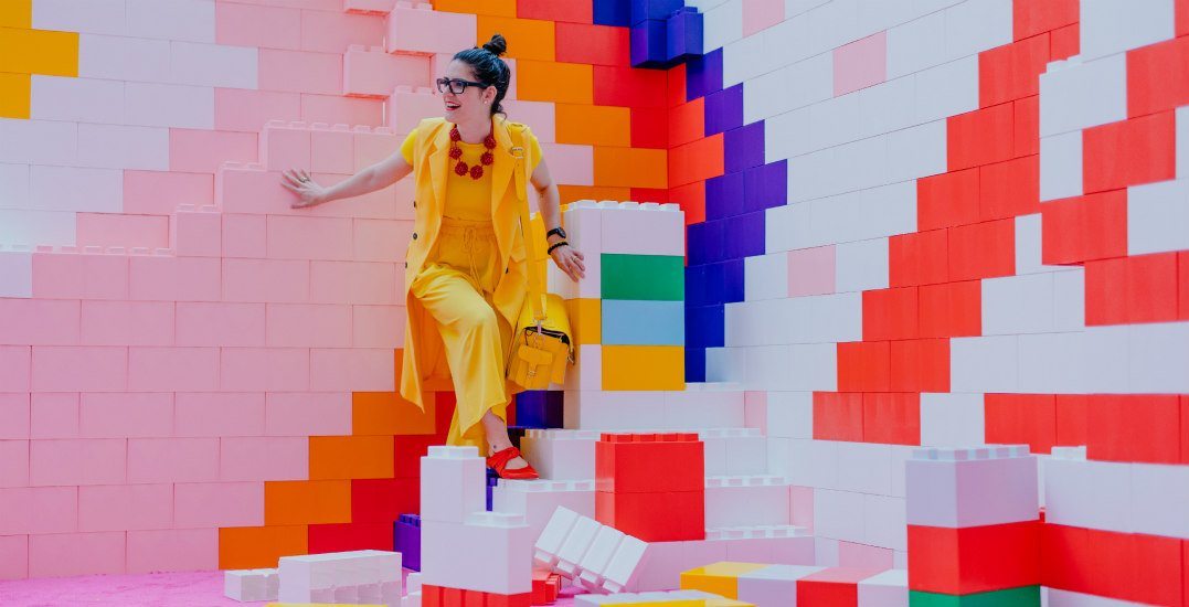 Southcentre Mall just launched CHROMA, a massive must-see art installation