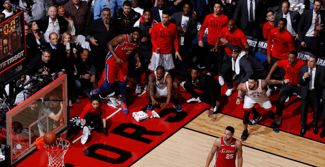 Iconic photo of Kawhi's buzzer beater wins world photography award