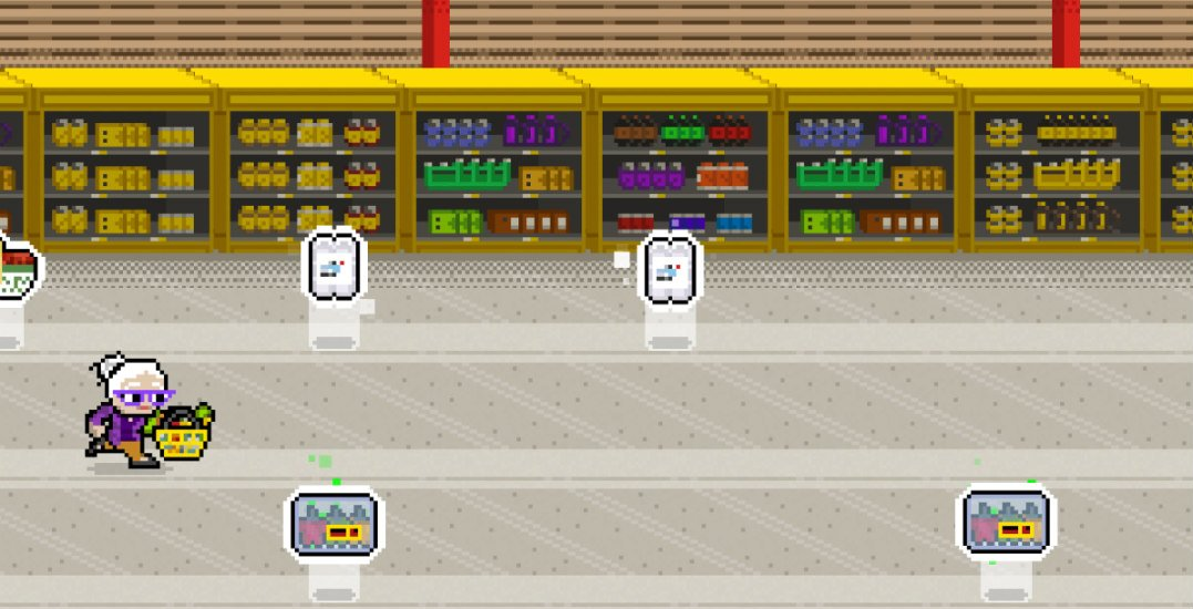 The future of gaming is here and it's all about groceries