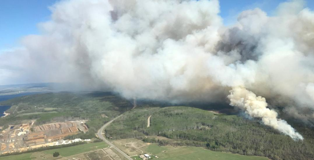 Evacuation order issued over weekend for human-caused wildfire in BC