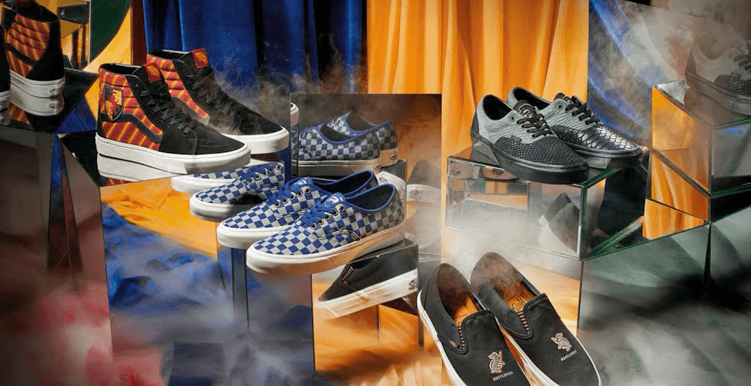 Magical kicks: Vans is releasing a Harry Potter shoe collection
