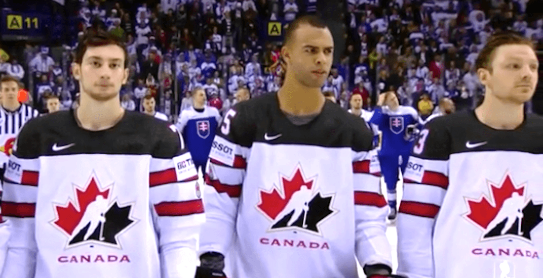Slovak hockey fans boo Canadian anthem at World Championship (VIDEO)