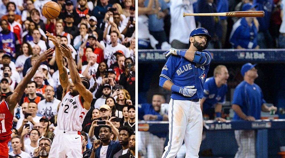Kawhi's shot vs Bautista's bat flip: Two seminal Toronto sports moments we'll remember forever