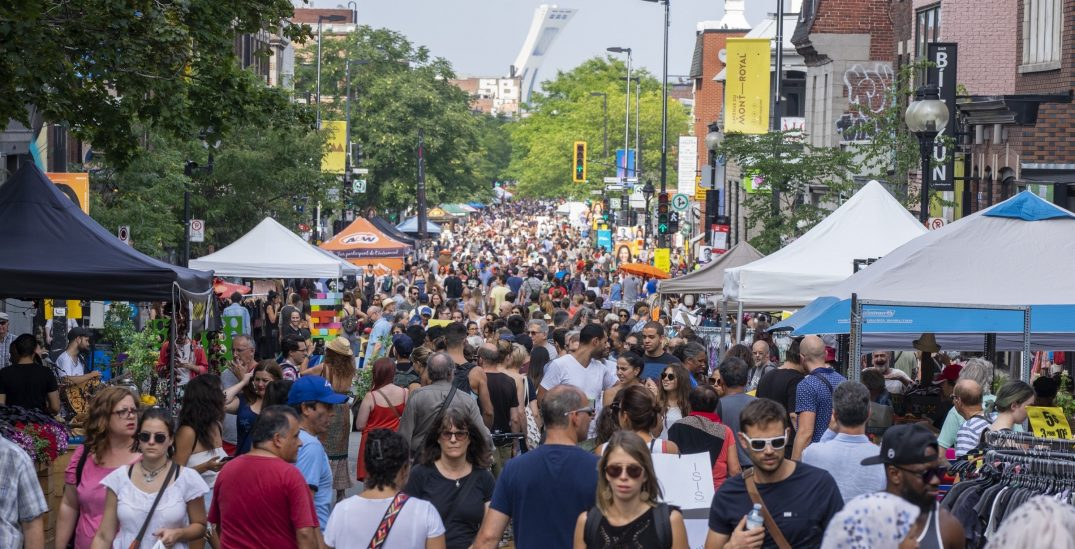 A FREE open-air street market is taking over Mont Royal Avenue from May 30 to June 2