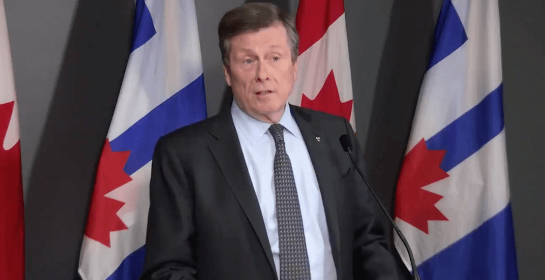 Toronto mayor calling for increased restrictions when current lockdown ends