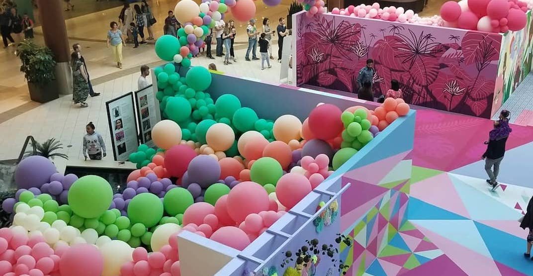 You need to check out the interactive art pop-up at this Calgary mall (PHOTOS)