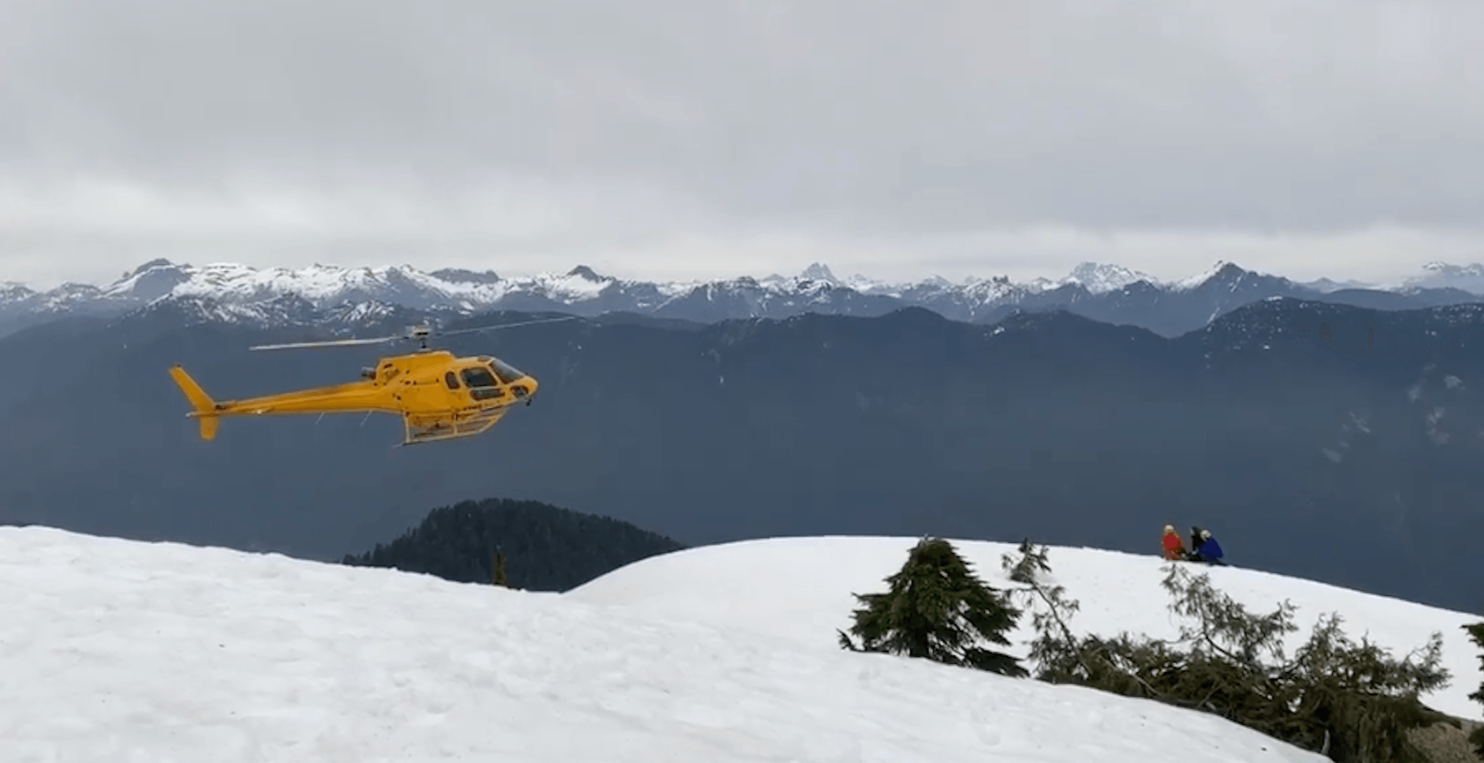 North Shore Rescue responding to stranded hiker on Mount Seymour