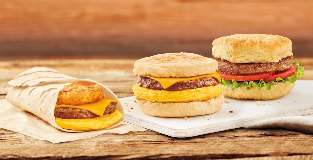 Tim Hortons officially testing Beyond Meat breakfast items across Canada
