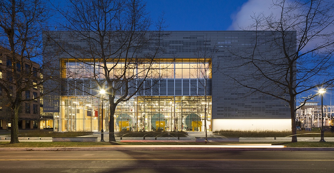 UBC's new campus energy centre wins green building award (PHOTOS)