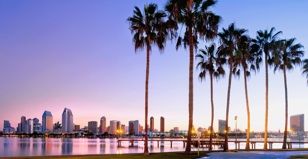 You can fly from Toronto to California for as low as $244 roundtrip
