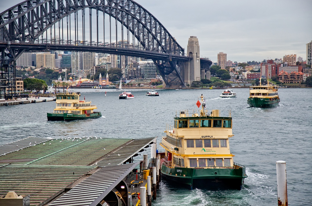 Sydney Circular Quay ferries