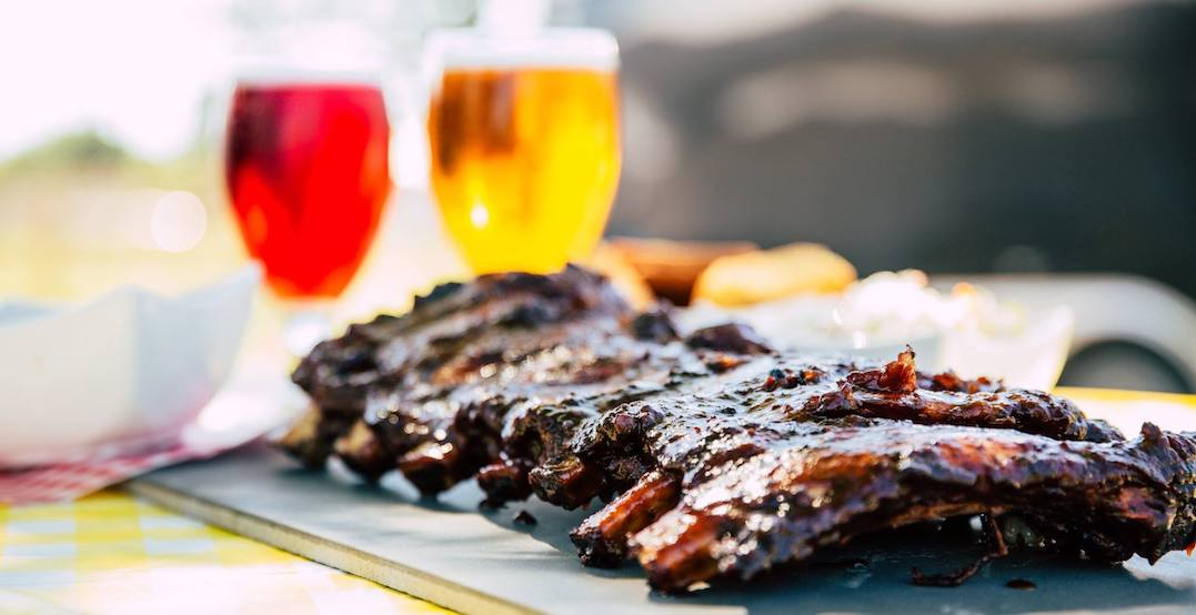 A huge rib fest is taking over Yonge-Dundas square from May 16 to 19