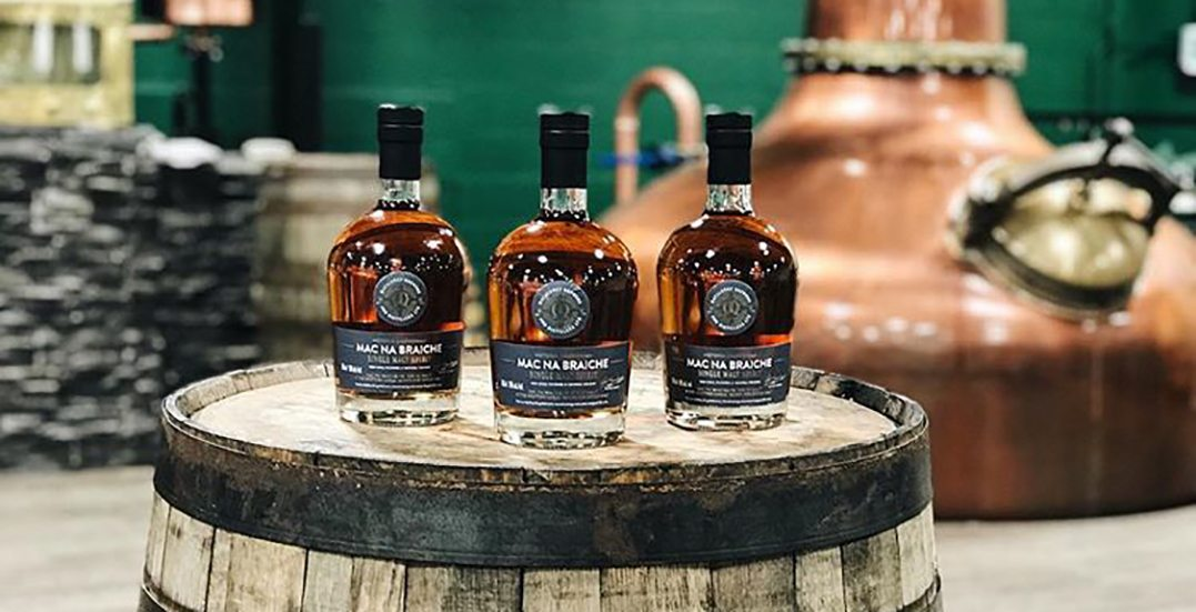 Vancouver Island's 'Victoria Caledonian Distillery' wins big at World Whiskies Awards