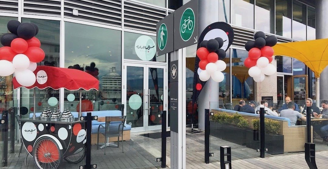 Uno Gelato has officially opened its Burrard Landing brick and mortar location