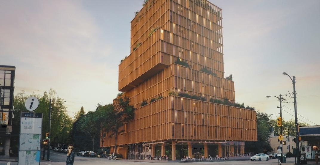 Landmark 14-storey rental tower proposed for corner of Alma and West Broadway