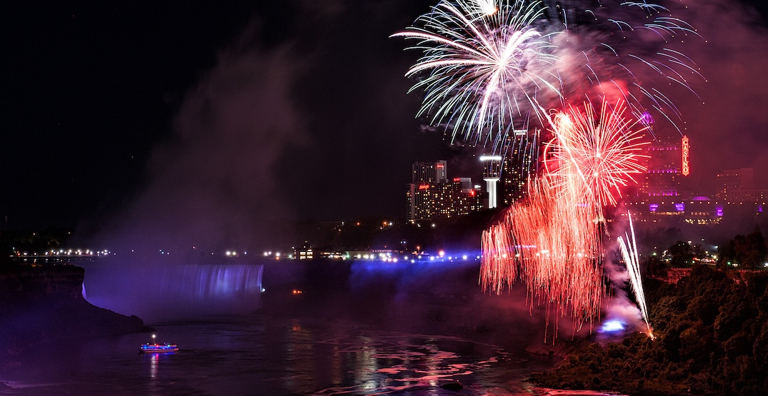 This epic fireworks series is returning to Niagara Falls this weekend