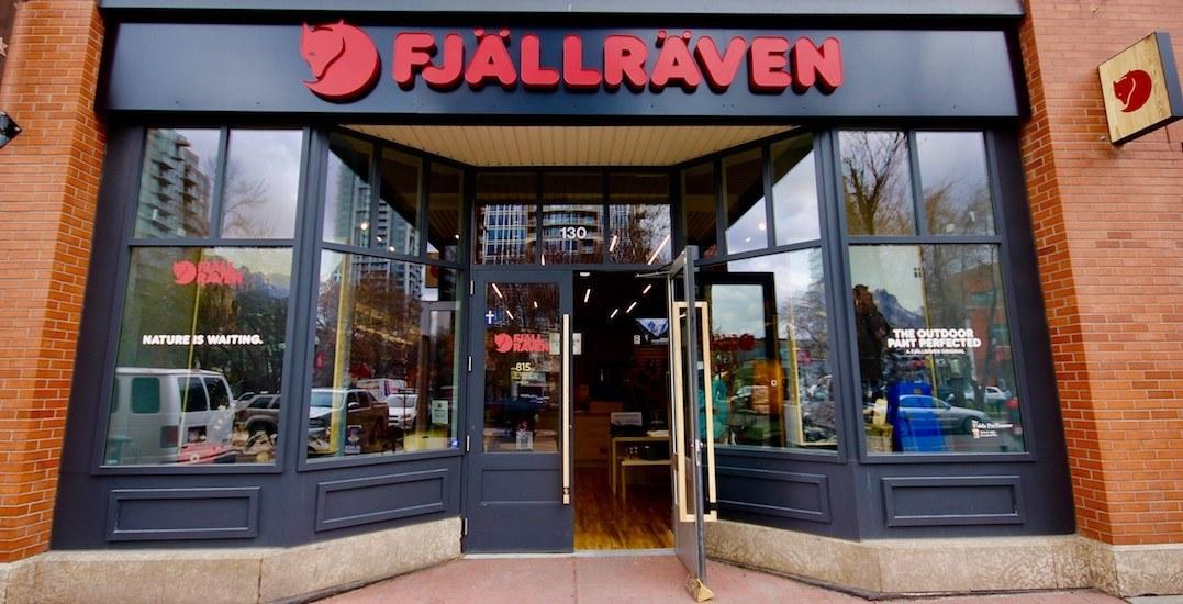 Swedish heritage brand Fjällräven opens new location in Calgary