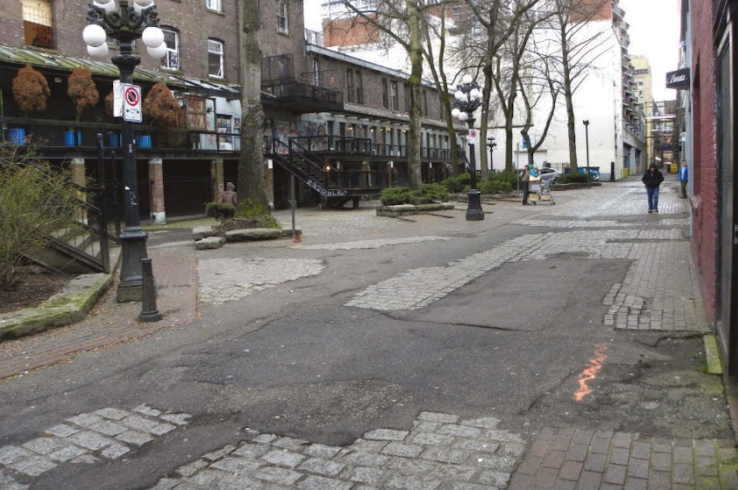 Blood Alley Square Gastown
