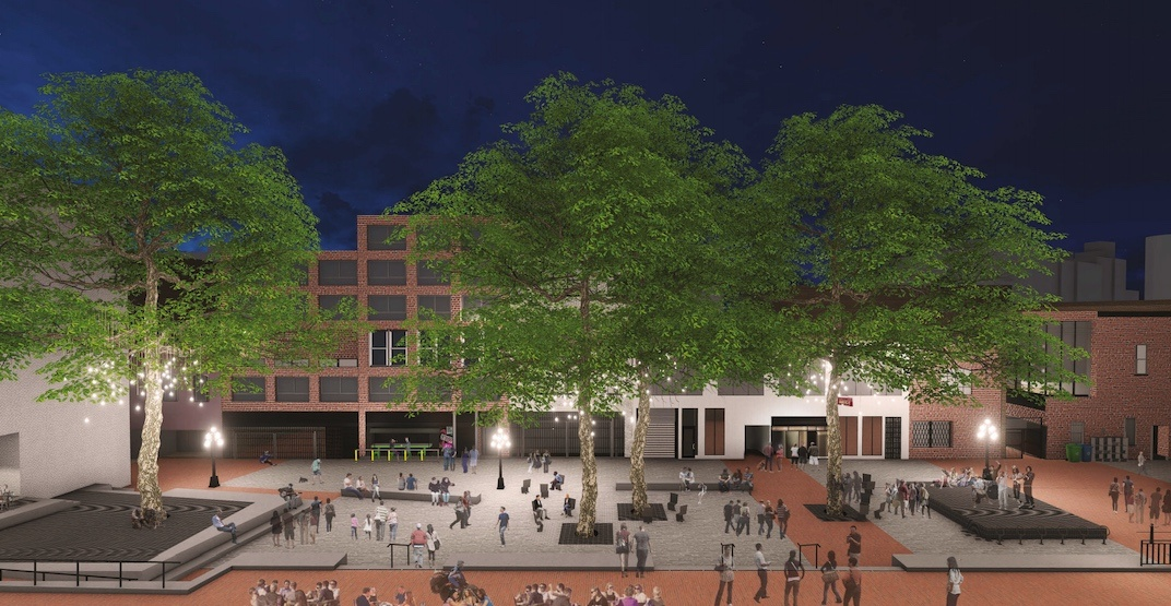 Major redesign proposed to turn Blood Alley Square into an event-friendly space