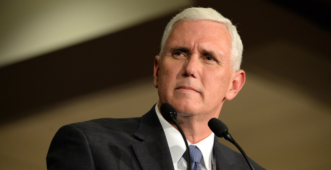US Vice President Mike Pence will travel to Canada this May
