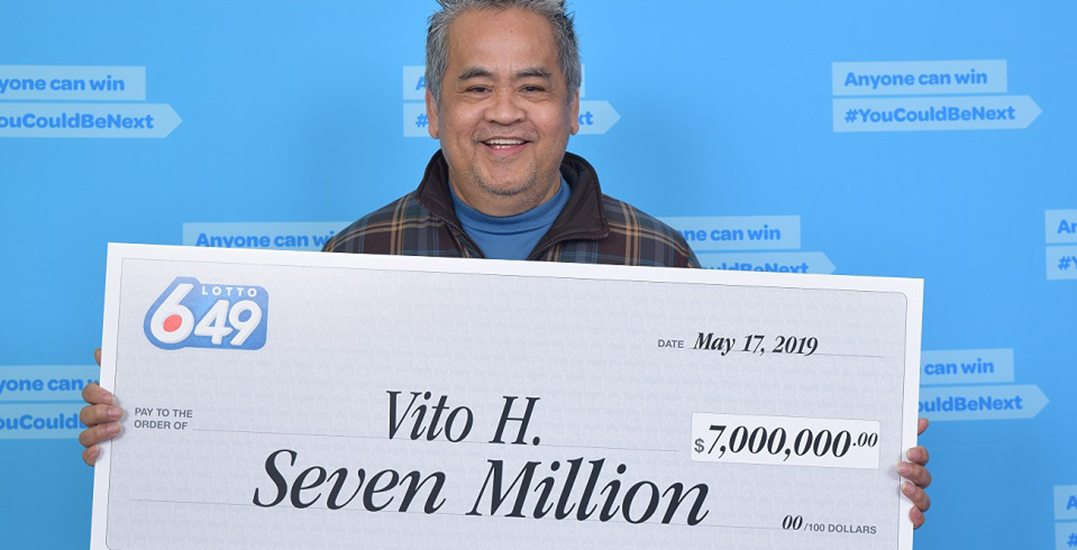$7M Lotto 6/49 winner to keep job as janitor, spend money on children