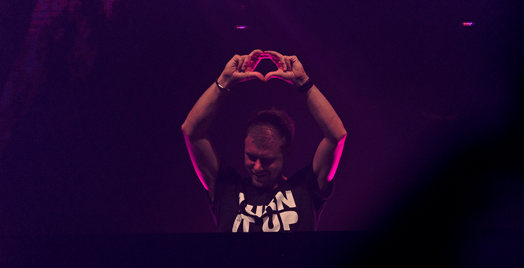 Armin Van Buuren leaves Vancouver in an epic state of trance (PHOTOS)