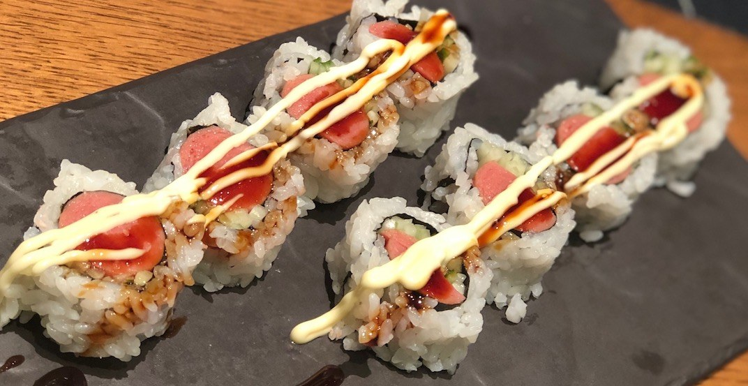 Vancouver's Nat Bailey Stadium just unveiled hot dog sushi (PHOTO)